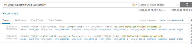 Monitoring vCenter 6 7 Scheduled Backups with Log Insight – vEric: